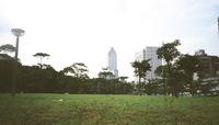 公園の設計は、イギリス仕込みの香港に比べて今一つあかぬけない。